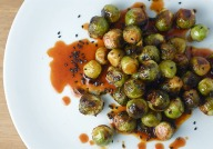Brussel Sprouts and Siracha Via The Bored Vegetarian