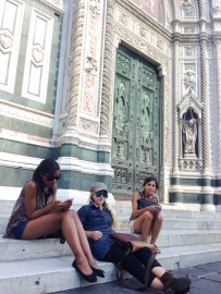 On the Steps of the Duomo.jpg