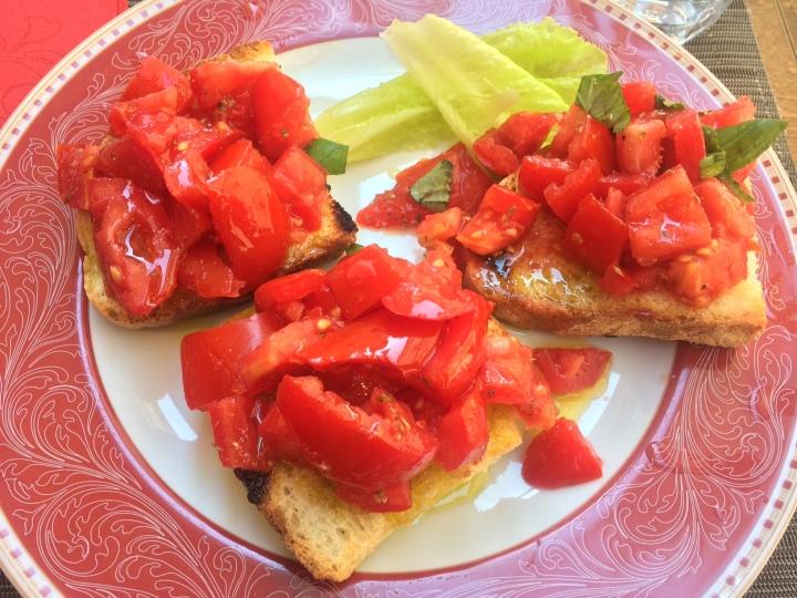 Bruchette al pomodoro