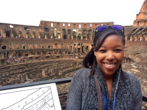 Me at the Roman Colosseum
