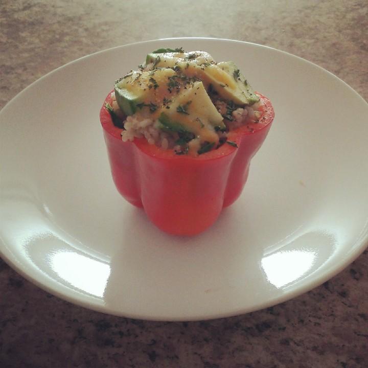 Easy Peasy Vegetarian Recipes: Vegetarian Stuffed BellPeppers
