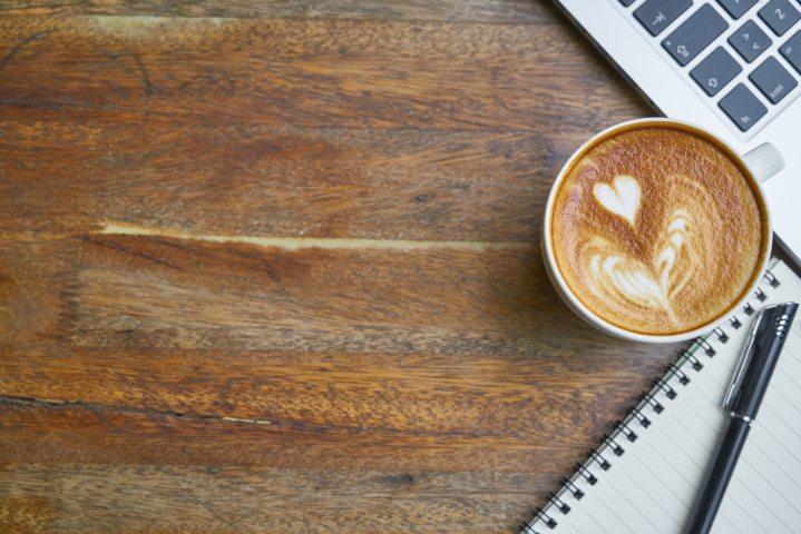Coffee and writing