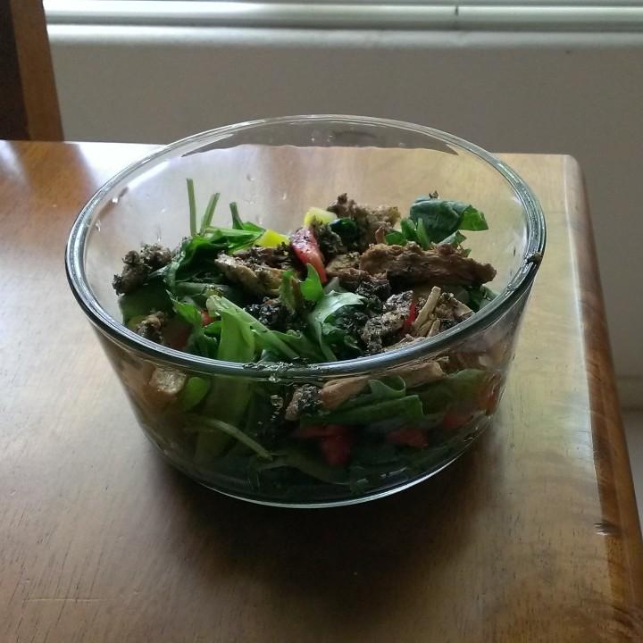 Easy Peasy Vegetarian Recipes: Vegan Baked ChickenSalad