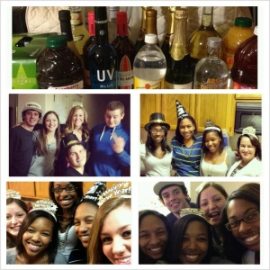 NYE picture grid