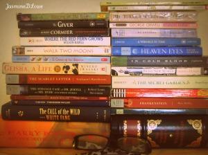 glasses and favorite books