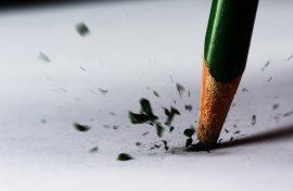 Broken Pencil by ~AcrophobicOwl