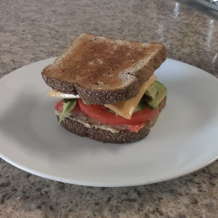 Easy Peasy Vegetarian Recipes: Veggie Sandwiches