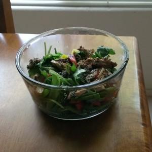 Easy Peasy Vegetarian Recipes: Vegan Baked Chicken Salad