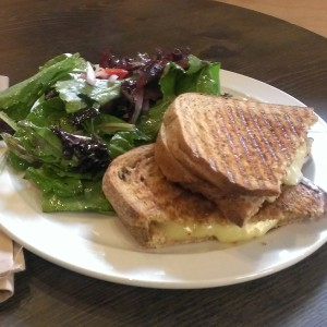 Classic grilled cheese from Green Bliss Cafe
