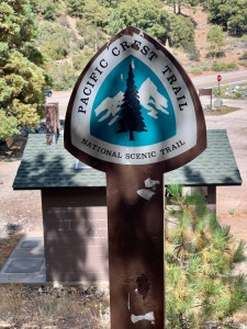 The Pacific Crest Trail Sign Post