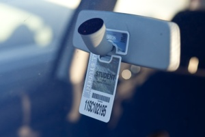 For spring 2014 semester, it cost students $229.00 for a parking permit.
